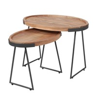 Industrial Side Table Casey (set of 2)