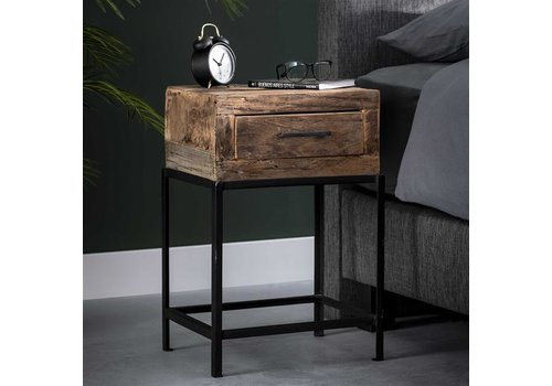 Industrial Bedside table Wymark