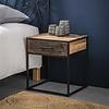 Industrial Bedside table Dudgeon Robust HardWood 1L
