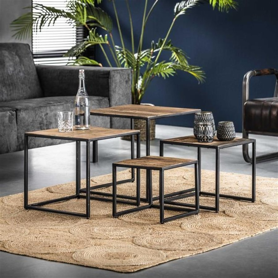 Industrial Side Table Dudgeon (set of 4)