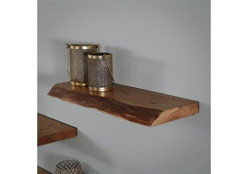 Wall shelf Dolman 60 cm Solid Acacia Wood