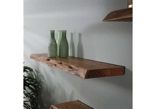 Wall shelf Dolman 120 cm Solid Acacia Wood