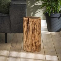 Side table Logan (one piece) Solid acacia wood