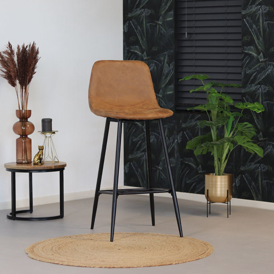 Bar Stool Susan Cognac