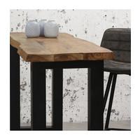 Industrial Bar Table Honk Solid Acacia wood
