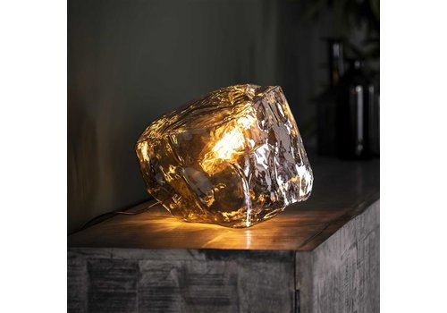Table Lamp Rock  Chromed