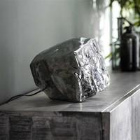 Table Lamp Rock  Chromed