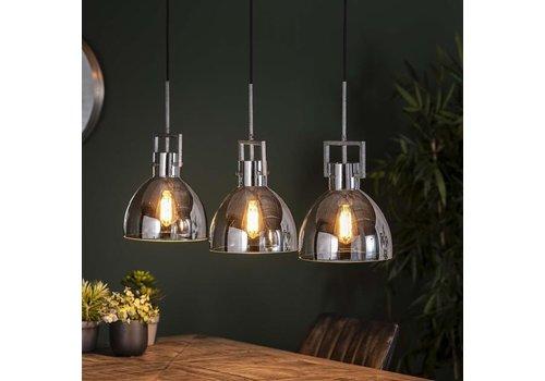 Modern Ceiling Light Munn 3L Chromed