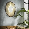 Wall mirror Uranus 80 cm gold