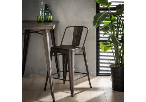 Industrial bar stool Harrison metal