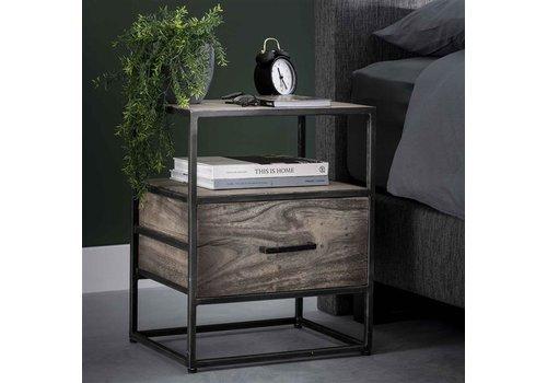 Industrial Bedside Table Teller