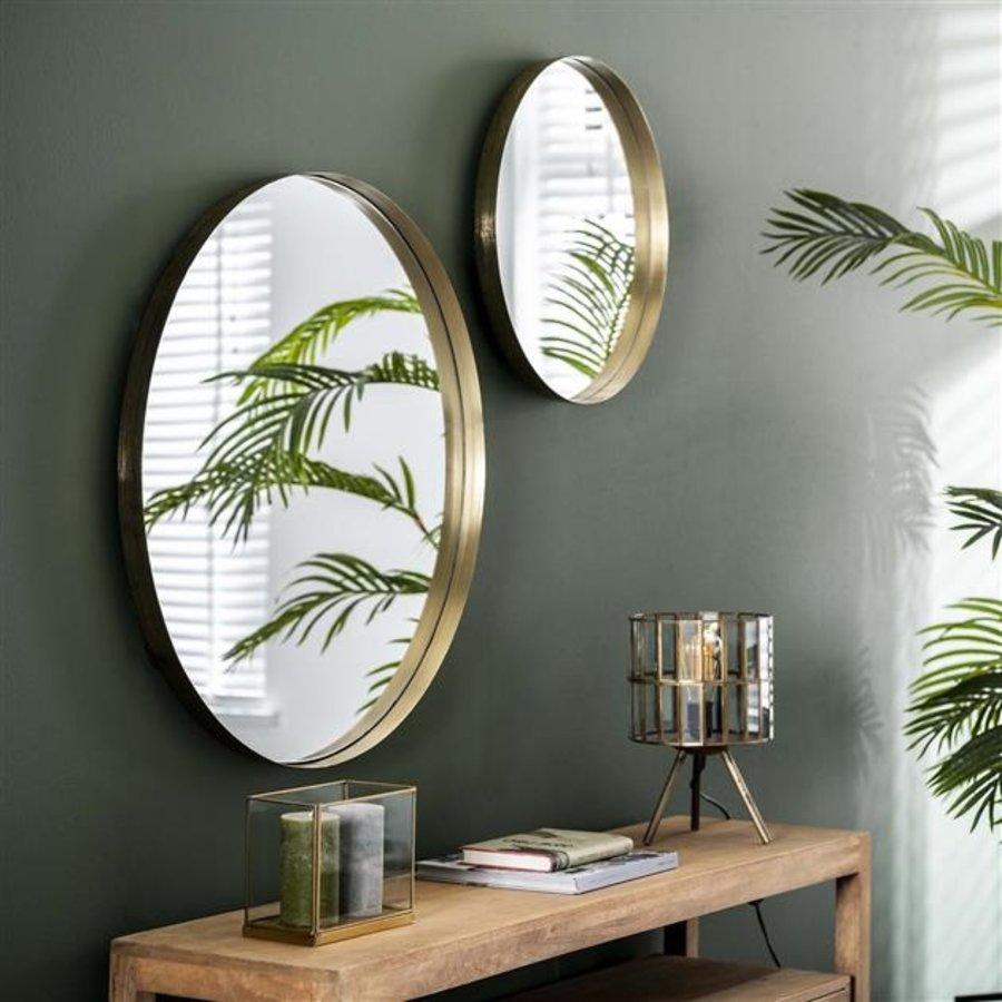 Wall mirror Kent ø75 cm Gold