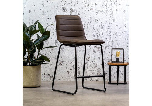 Industrial Bar Stool Ryan Brown