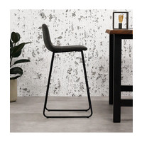 Industrial Bar Stool Byron Anthracite