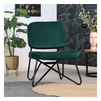 Velvet armchair Julia Green