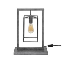 Industrial table lamp Winston Cube