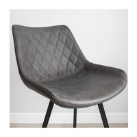 Industrial Bar Stool Bowie Anthracite