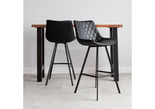 Industrial Bar Stool Bowie Black