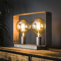 Industrial Table Lamp Dunster 2L