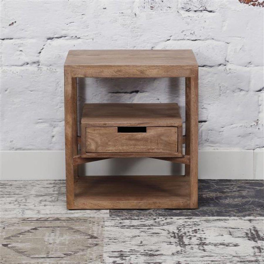 Bedside table Ipswich Solid Mango Wood 1d