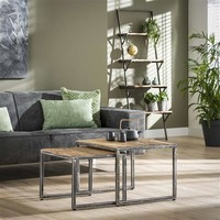 Industrial Side Table Dudgeon (set of 2)