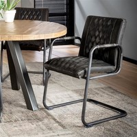 Industrial Dining Chair Walden Anthracite