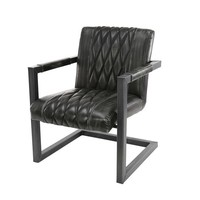 Industrial Dining Chair Halstead Anthracite