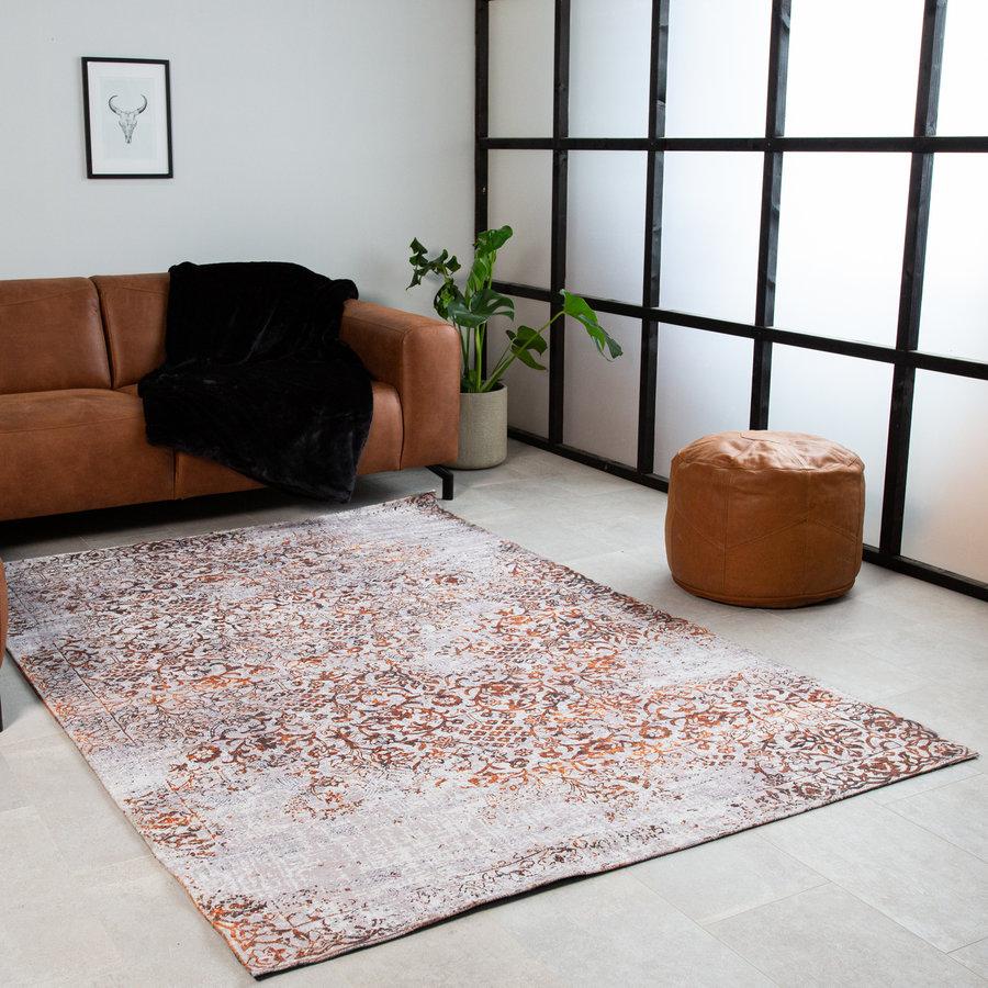 Rug Julia Orange White 230x160 cm