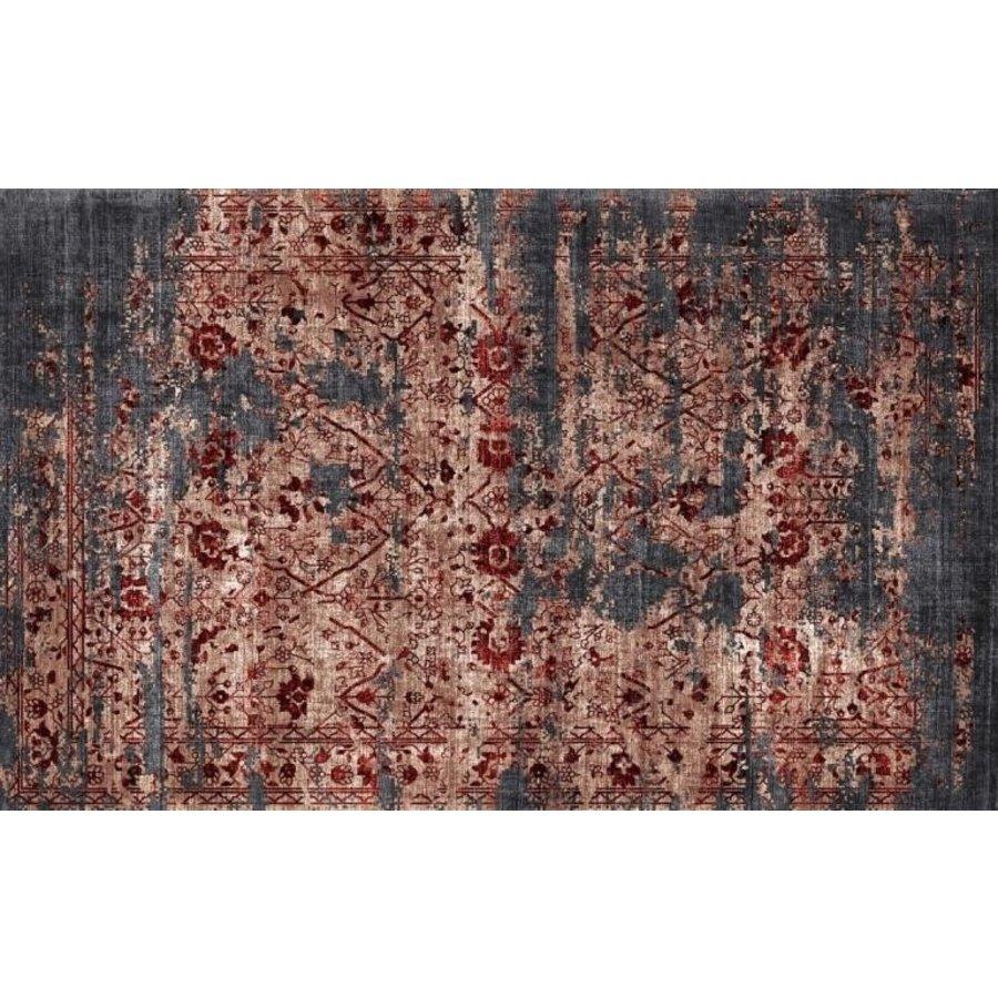 Rug Julia Black Red 230x160 cm
