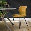 Velvet dining chair Golf Gold