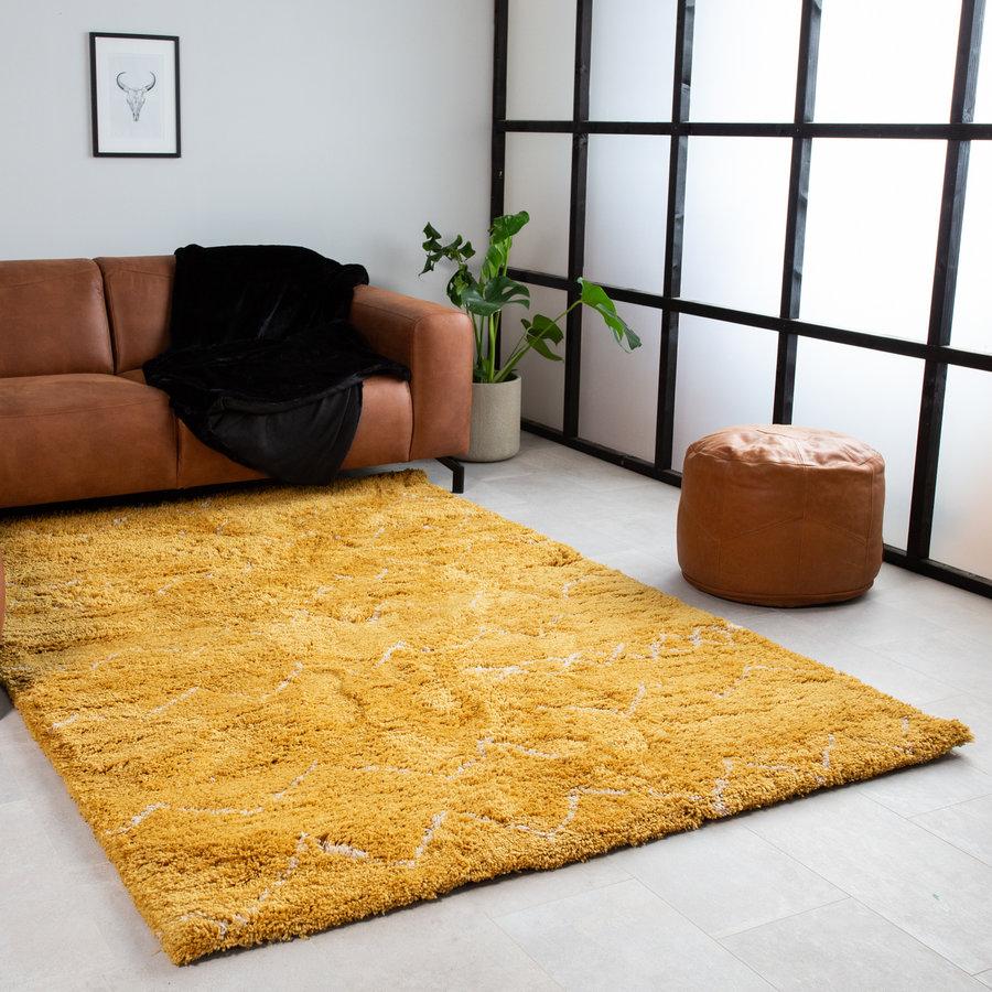 Rug Michel Yellow 230x160 cm
