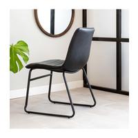 Industrial Dining chair Ryan Black