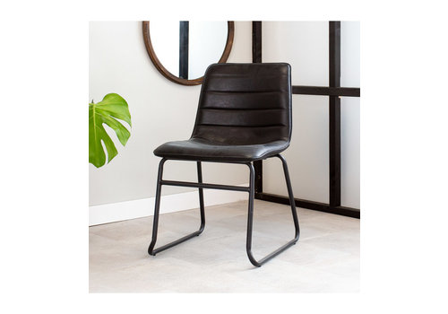 Industrial Dining chair Ryan Black