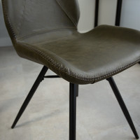 Industrial Dining Chair Barron Green