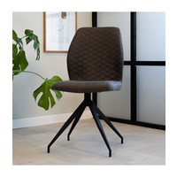 Industrial Dining Chair Grayson Anthracite