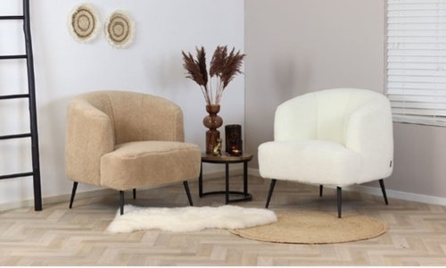 Trend alert; Teddy armchair and teddy chairs!
