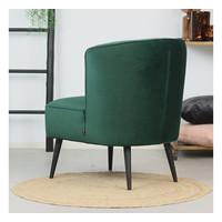 Velvet armchair Lyla Green