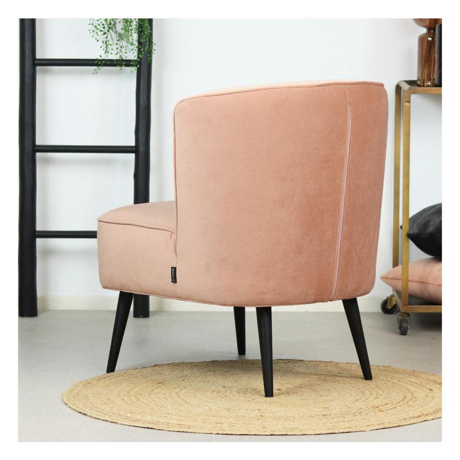 Velvet armchair Lyla Pink