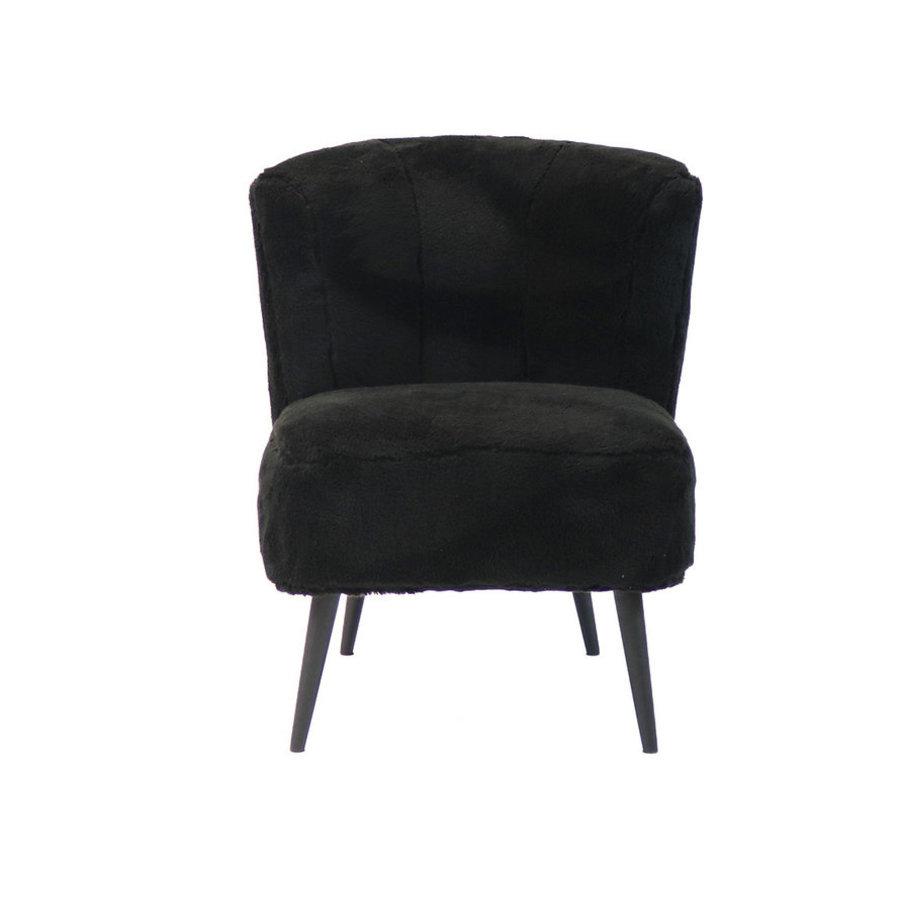 Teddy armchair Lyla black