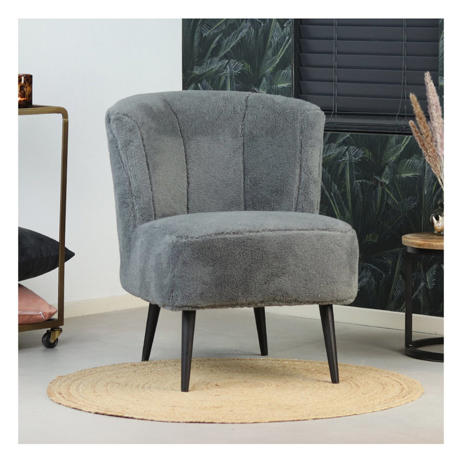 Teddy armchair Lyla Grey