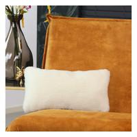 Pillow Tess teddy White 25 x 45 cm