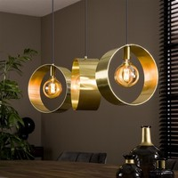 Modern Ceiling Light Aurelia Gold 3L