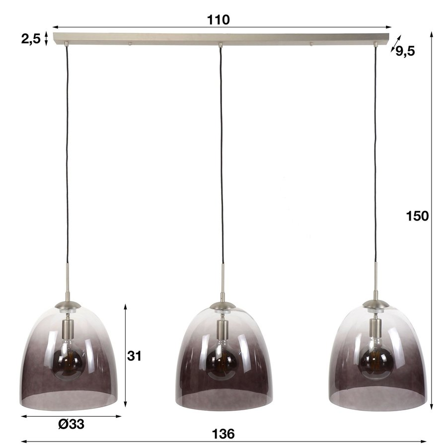 Modern Ceiling Light Trafford ø33