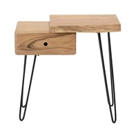 Industrial Bedside table Edge R