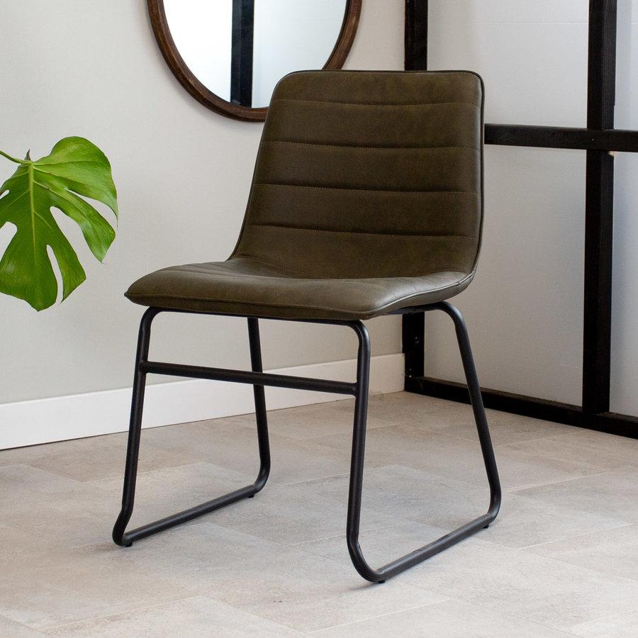 Industrial Dining chair Ryan Green