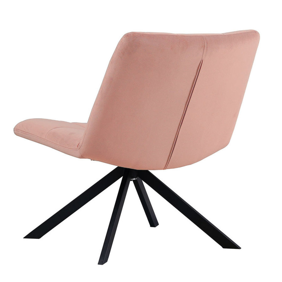 Armchair Eevi Pink Velvet