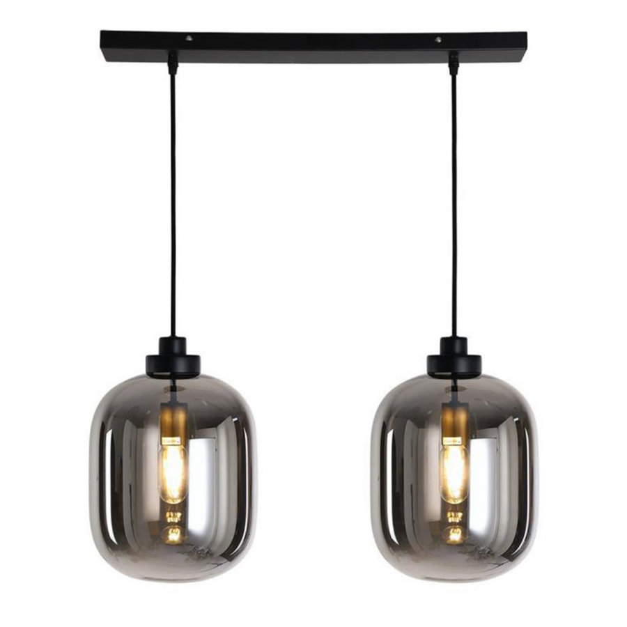 Ceiling light 30 cm 2 pendants