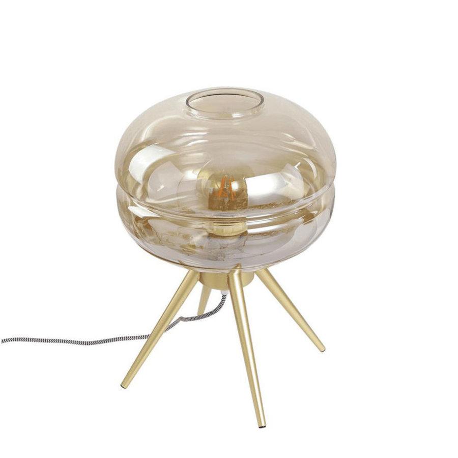 Modern Table Lamp Jody Amber