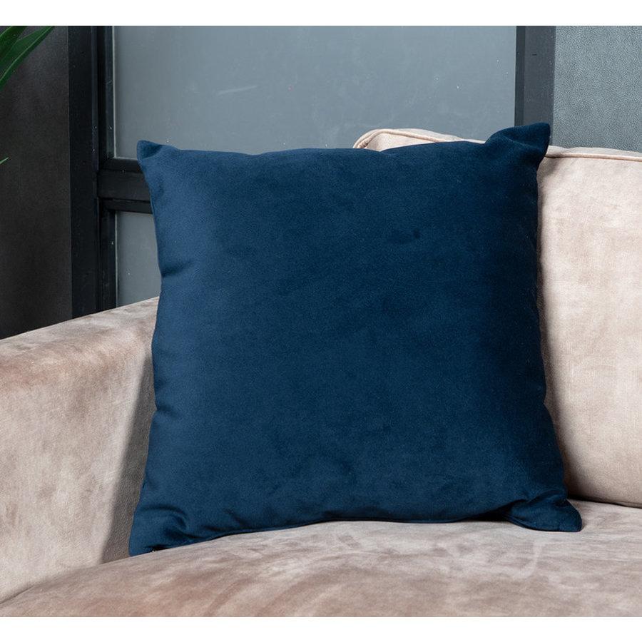 Pillow Anna Dark Blue 45 x 45 cm