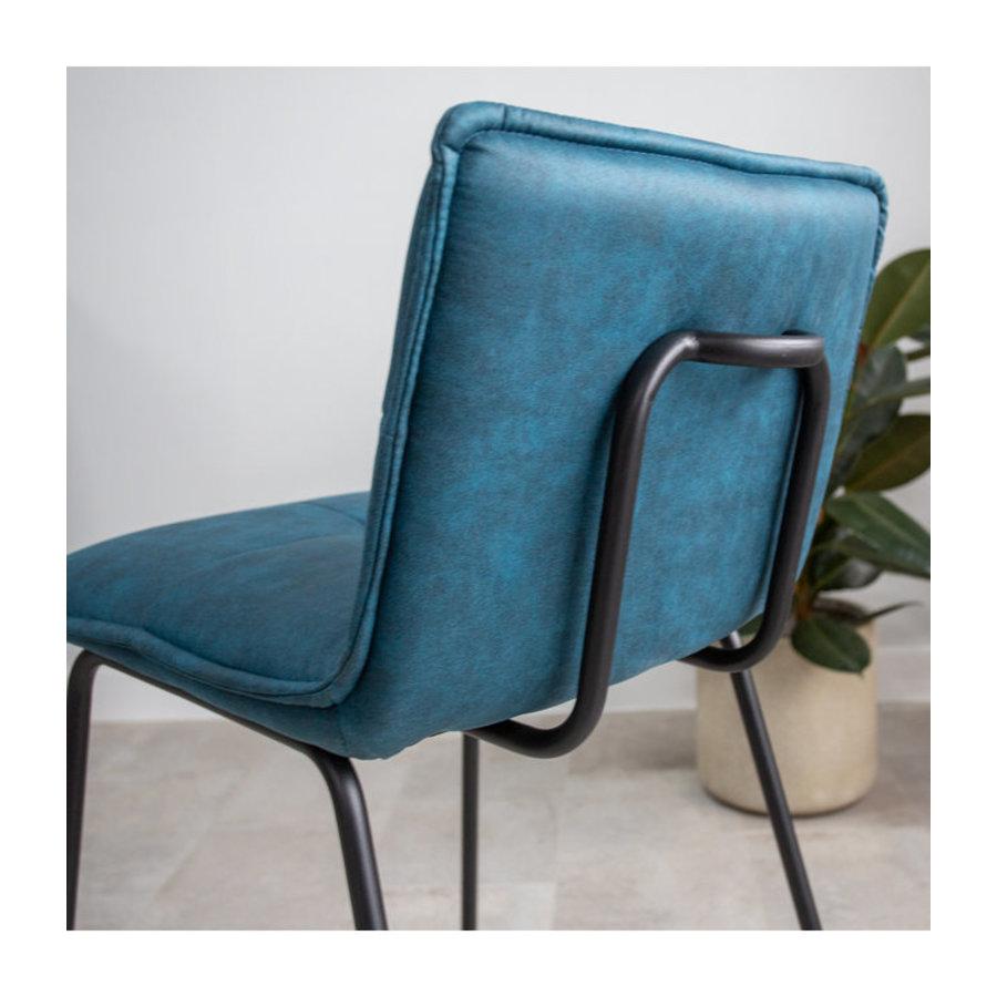Industrial Barstool Jelle Blue